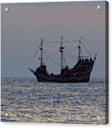Pirate Ship At Clearwater Acrylic Print