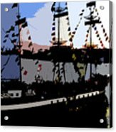 Pirate Ship Acrylic Print