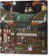Pirate's Cove Halloween Acrylic Print