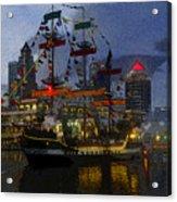 Pirates Plunder Acrylic Print