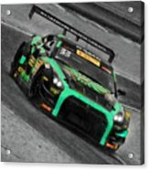Pirelli World Challenge Jd Davison Nissan Gt R Gt3 Acrylic Print