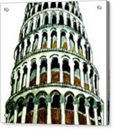 Pisa Erected Acrylic Print