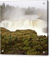 Pisew Falls Northern Manitoba Canada Acrylic Print