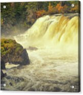 Pisew Falls Acrylic Print