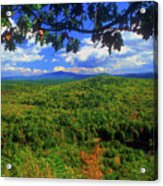Pisgah State Park Ridge Trail View Acrylic Print