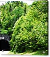 Pisgah Tunnel Acrylic Print