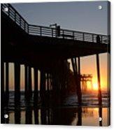 Pismo Beach Pier California 2 Acrylic Print