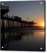 Pismo Beach Pier California 4 Acrylic Print
