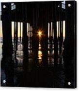 Pismo Beach Pier California 7 Acrylic Print