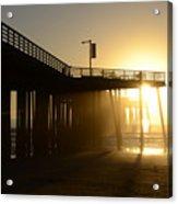 Pismo Beach Pier California 8 Acrylic Print