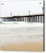 Pismo Beach Pier Acrylic Print