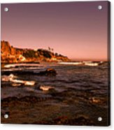 Pismo Beach Sunset Acrylic Print