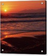 Pismo Beach Sunset Acrylic Print