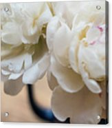 Pitcher Of Peonies Acrylic Print