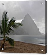 Pitons - St. Lucia Acrylic Print
