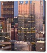 Pittsburgh 19  Acrylic Print by Emmanuel Panagiotakis