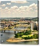 Pittsburgh Hdr Acrylic Print