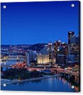 Pittsburgh Acrylic Print