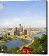 Pittsburgh Pennsylvania Incline Acrylic Print