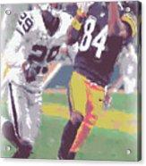 Pittsburgh Steelers Antonio Brown 1 Acrylic Print