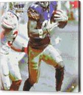 Pittsburgh Steelers Antonio Brown 3 Acrylic Print