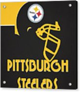Pittsburgh Steelers Team Vintage Art Acrylic Print