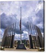 Pittsburgh War Memorial Just Outside Acrylic Print