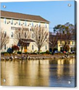 Pittsford Four Mill Acrylic Print