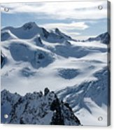 Pitztal Glacier Acrylic Print