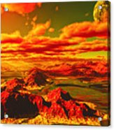 Pius Moon Acrylic Print