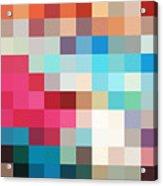 Pixel Art 2 Acrylic Print