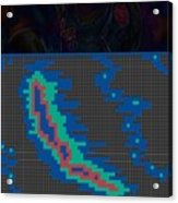 Pixel Painting Acrylic Print