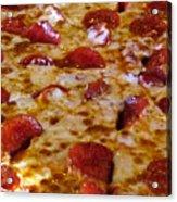 Pizza Pie Acrylic Print