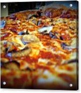 Pizza Pie For The Eye Acrylic Print