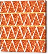 Pizza Slices Acrylic Print