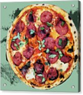 Pizza - The Corleone Special Acrylic Print