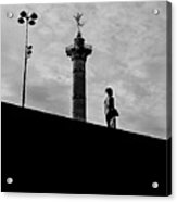 Place De La Bastille - Paris. Acrylic Print
