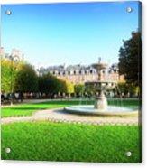 Place De Vosges, Paris Acrylic Print