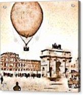Place Du Carrousel 1878 Acrylic Print
