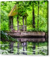 Place To Relax And Meditate  Acrylic Print