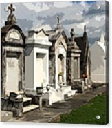 Place Where Dead People Are Buried Acrylic Print