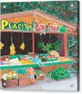 Placita Acrylic Print