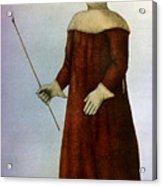 Plague Costume Acrylic Print