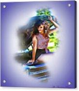 Plaid Chevelle Acrylic Print