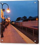 Plainfield Train Station Acrylic Print
