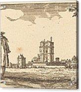 Plan General Du Chasteau Et Petit Parc De Vincennes Acrylic Print