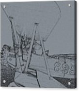 Plane 3 Acrylic Print