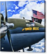 Plane - Curtiss C-46 Commando Acrylic Print