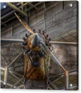 Spirit Of St Louis Propeller Airplane Acrylic Print