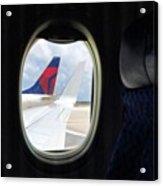 Plane Window #juansilvaphotos Acrylic Print